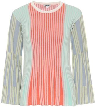 Kenzo Ribbed-knit shirt