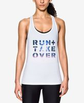 Under Armour Run Graphic Racerback Tank Top