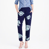 J.Crew Reese pant in graphic peony
