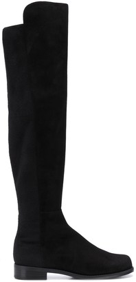 Stuart Weitzman Thigh-High Flat Boots