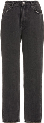 Ksubi Pointer High-Rise Cropped Jeans
