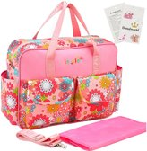 Donalworld Baby Collection Diaper Bag Set Nappy Organizer Shoulder Bag