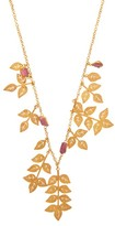 Pippa Small Turquoise Mountain - Khurshid 18kt Gold-vermeil & Quartz Necklace - Womens - Gold