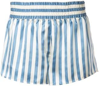 Morgan Lane Corey striped pyjama shorts