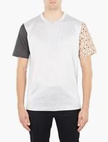 Lanvin Panelled Cotton T-Shirt