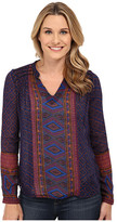 Lucky Brand Placed Geo Top