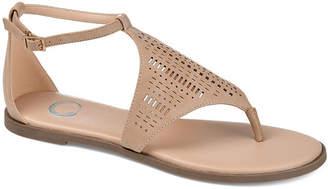 Journee Collection Womens Niobi Flat Sandals