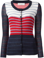 Sonia Rykiel rib striped cardigan