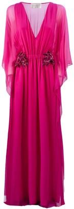 Alberta Ferretti Pink Silk Dress