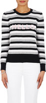 "Lisa Perry Women's ""Hello/Goodbye"" Striped Cashmere Sweater"