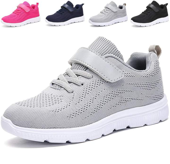 e4afbe0813a adituo Kids Lightweight Sneakers Boys and Girls Cute Breathable Athletic  Walking Casual Running Shoes
