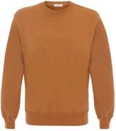 J.W.Anderson logo embroidered sweatshirt