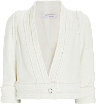 IRO Cezais Tweed Collarless Jacket