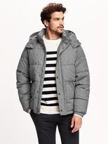 Old Navy Men's Hooded Quilted Jacket