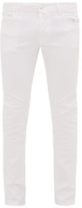Jacob Cohen Slim-leg Stretch-denim Jeans - White