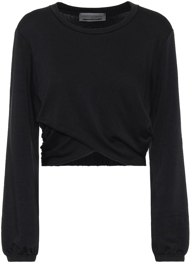 Lanston Overland cropped sweatshirt