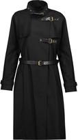 Isabel Marant Hanya belted cotton and linen-blend coat