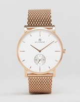 Accurist Mesh Bracelet Watch In Rose Gold