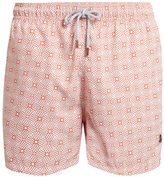 RETROMARINE Vintage-print swim shorts