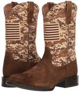 Ariat Sport Patriot Round Toe Cowboy Boots