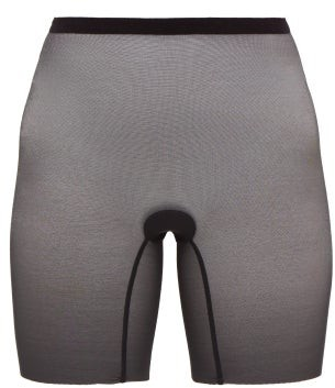 Wolford High-rise Mesh Shapewear Shorts - Black