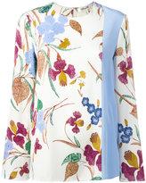 Diane von Furstenberg floral-print top - women - Silk/Spandex/Elastane - 4