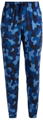Derek Rose Basel Camouflage Lounge Trousers