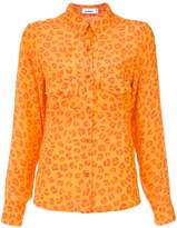 Amir Slama leopard print shirt