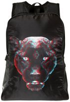 Marcelo Burlon County of Milan Panther 3d Print Nylon Backpack