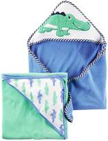 Carter's Baby 2-pk. Animal Hooded Towels
