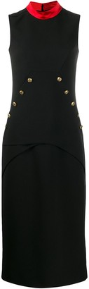 Givenchy 4G buttons fitted dress