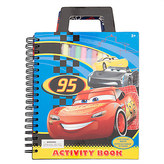 Disney Cars 3 Activity Book