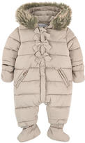 Tartine et Chocolat Padded jumpsuit with a fleece lining