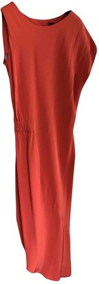 Zero Maria Cornejo Zero+maria Cornejo Orange Silk Dress for Women