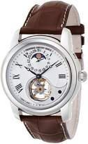 Frederique Constant Men's FC935MC4H6 Heart Beat Moonphase Heart Beat Moonphase Mens Open Face Watch Watch