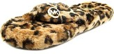 Michael Kors Jet Set Fur Thong Slippers.