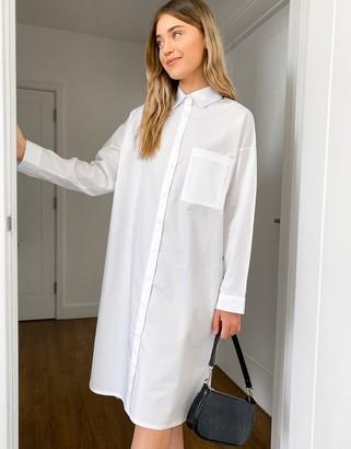 Daisy Street oversized midi shirt dress