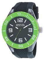 Kenneth Cole Reaction Unisex RK1339 Street Collection Analog Display Japanese Quartz Black Watch