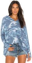 Michael Lauren Dash Sweatshirt in Blue. - size XS/S (also in )