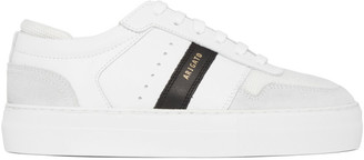 Axel Arigato White and Black Platform Sneakers