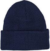 CA4LA Men's Rib-Knit Alpaca-Blend Beanie-BLUE