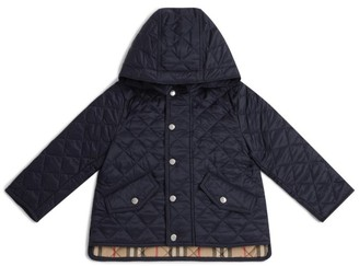 Burberry Kids Diamond-Quilted Jacket