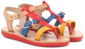 Ancient Greek Sandals Kids Little Grace Kelly leather sandals