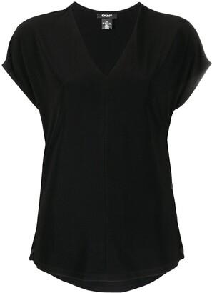 DKNY V-neck short-sleeved t-shirt