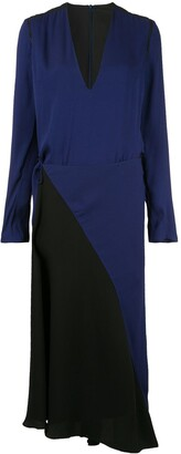 Haider Ackermann Long Sleeve Wrap Dress