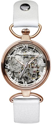 Zeppelin Ladies Watch Princess Automatic Skeleton Watch Rose Gold 7459-1