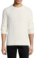 Brooks Brothers Crewneck Cableknit Sweater