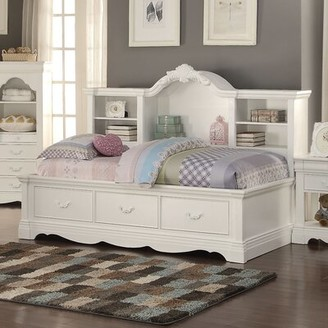 Harriet Bee Eustice Bed with Bookcase