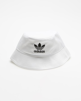 adidas White Hats - Adicolour Bucket Hat - Size One Size at The Iconic