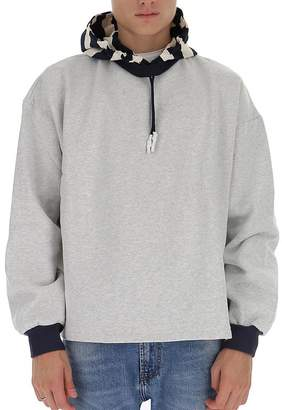 Sunnei Contrasting Panelled Hoodie